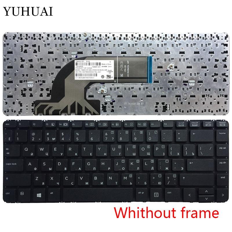 New For HP PROBOOK 440 G0 440 G1 445 G1 Keyboard Brazil Portuguese Teclado Frame