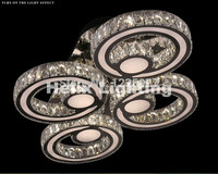 Newly Modern Free Shipping Crystal LED Ceiling Lamp Hot Crystal Modern Led Ceiling Lights For Living