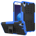 For Huawei Y6 II Y6 2 Case Shockproof Silicone + Hard Plastic Case For Honor 5A Y6II 5.5 inch Fundas Mobile Phone Holder Stand