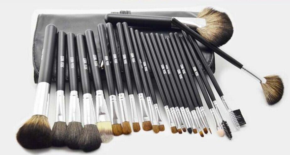 HOT SELL 10sets professional cosmetic makeup brushes set makeup tools 24pcs/set
