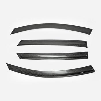 Для KIA K5 Optima JF 2016 года, оконный козырек из углеродного волокна, 4 шт.