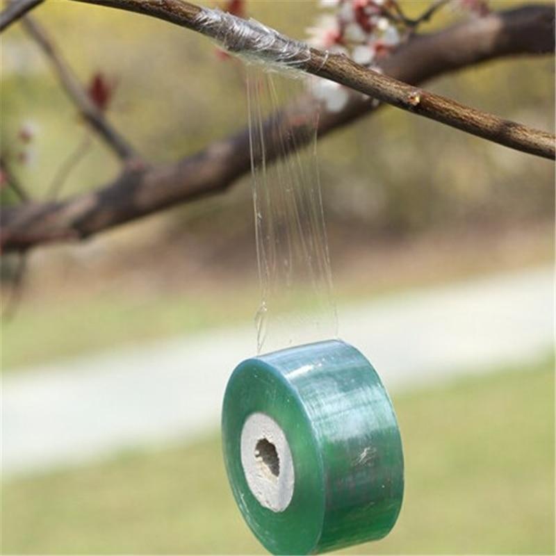 Ferramentas de jardim Fruit Tree tesouras de podar enxertar ramo de jardinagem cinto ligam PVC laço de fita 2 CM x 100 M / 1 RolI jt002