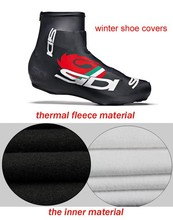 High Quality Unisex 2014 Ciclismo Bike Cycling Shoes Cover Bicycle Accessorie Winter Thermal Fleece Over Cover