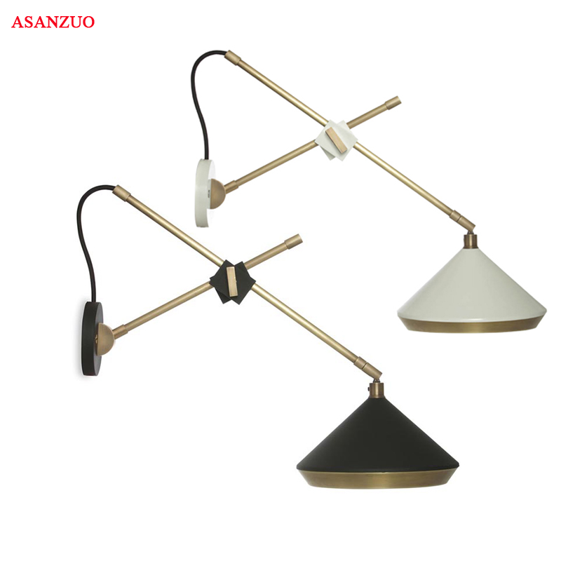 Nordic Simple creative iorwall light led bedroom bedside decoration Modern Simple creative living room corridor hotel wall lamps new postmodern simple creative wall light led bedroom bedside decoration nordic designer living room corridor hotel wall lamps