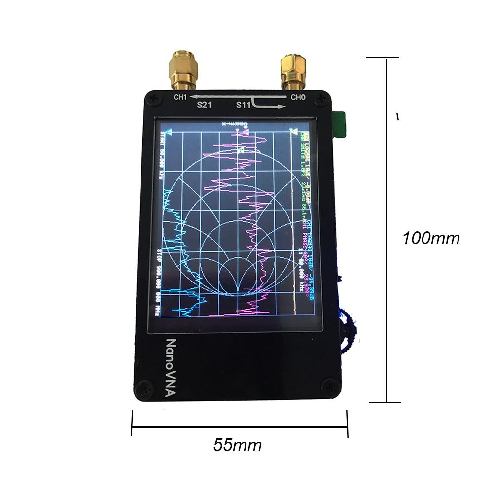 Image 3 - Lusya NanoVNA 2.8 inch Touch LCD HF VHF UHF UV Vector Network Analyzer 50KHz   300MHz Antenna Analyzer A6 010-in Radio from Consumer Electronics
