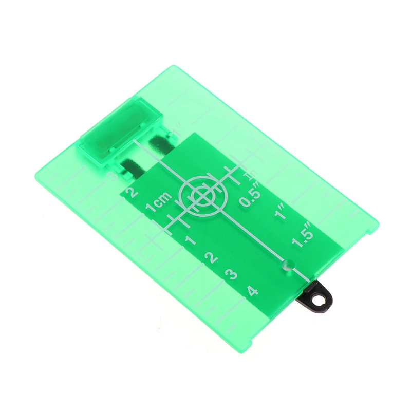 Magnetic Green Target Plate For Rotary Cross Line Laser Level Distance Measurer L15