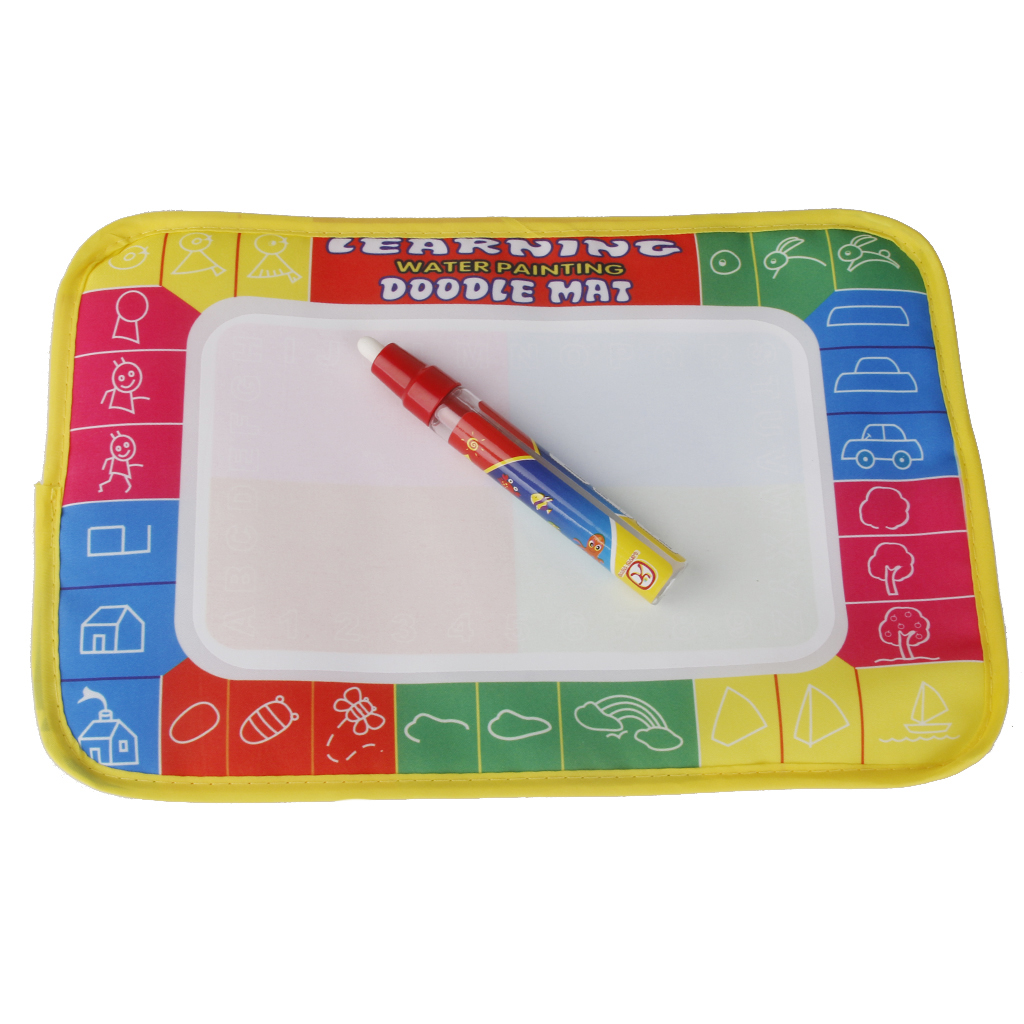 Hot Sale Multi Color Kids Water Writing Painting Mat Kids Magic Pen Toys Indoor Drawing Board Game Gift Toys for Children Kids