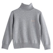 1 pcs High Quality Girl Boys Sweater Brand Kids Striped Knit Pullover Classic Style Children's Winter Cardigans Sweaters