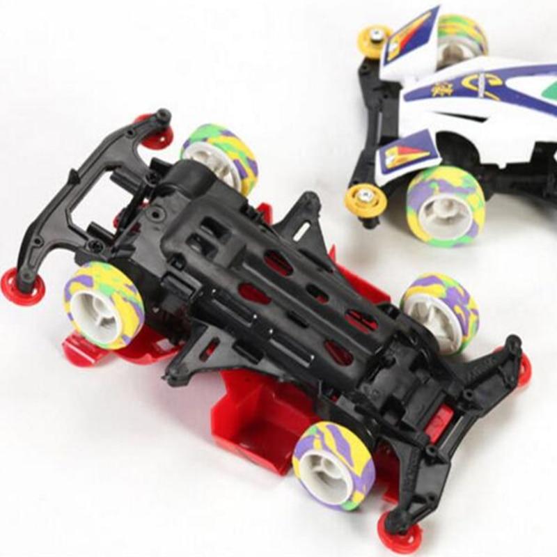 Diy F1 Racing Speelgoed Model Vierwielaandrijving Auto Elektrische
