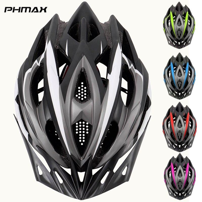 Велосипедный шлем PHMAX 2020, ультралегкий шлем из пенополистирола и поликарбоната, защитный шлем для горных и шоссейных велосипедов со встроен...