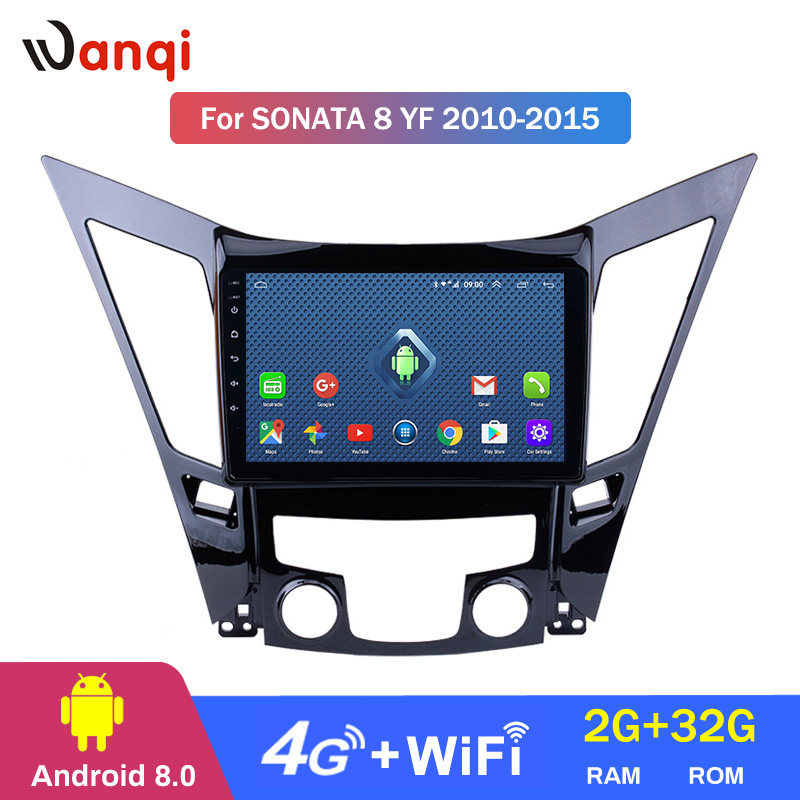 Support Sonata Yf Android-8.0 Navigation HYUNDAI for HD Car GPS Swc 4G 9inch All-Netcom