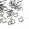 $1 FOR $99 Jewelry Accessory  Findings 304 Stainless Steel Sliver Jump rings 7x1mm  For Bracelet DIY Marking
