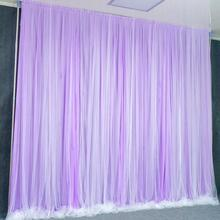 Wedding props background frame thickened 3*6 stainless steel wedding bar road lead veil