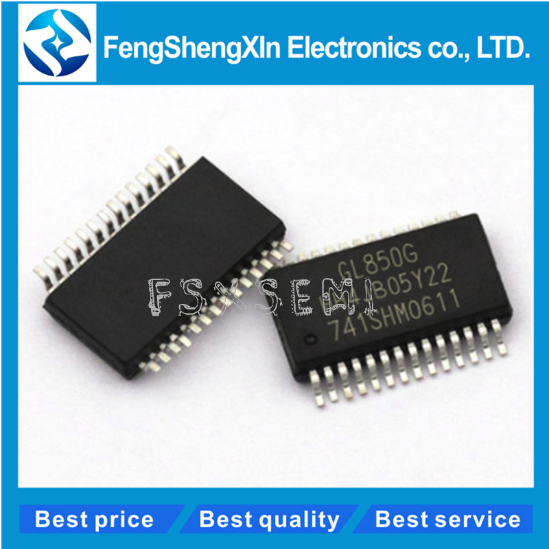 5 PCS GL850G SSOP-28 GL850 USB 2.0 HUB Controller