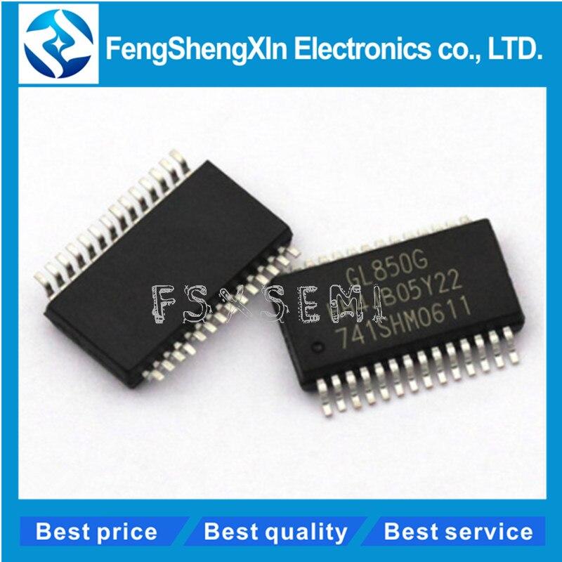 5PCS GL850G GL850 USB 2.0 HUB Controller SSOP28 Good Quality