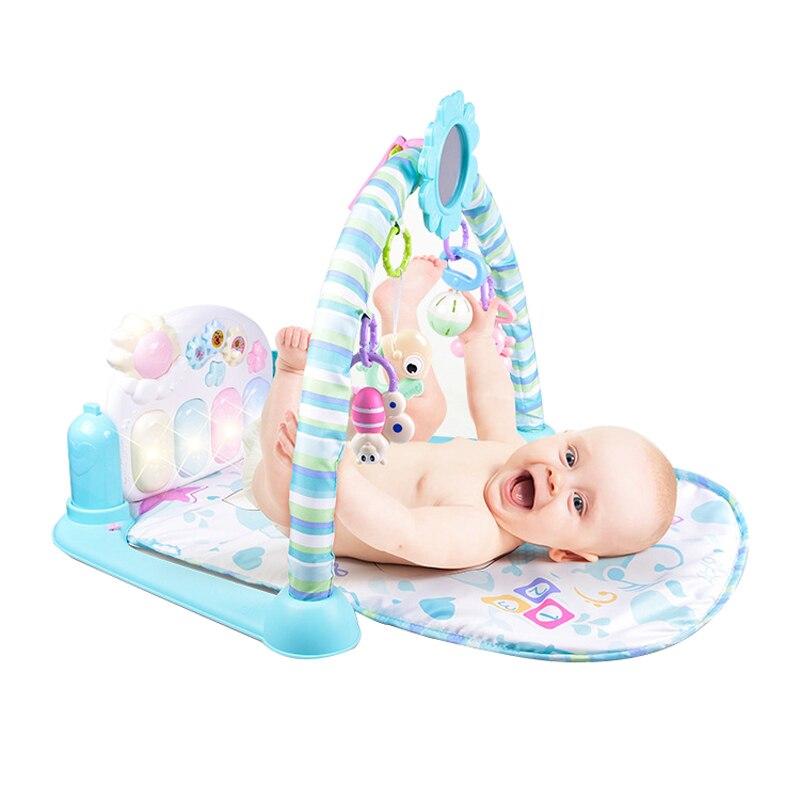 Bébé Piano musique tapis de jeu jouets activité infantile support éducatif Gym enfants jouets Sports tapis Gym jouets doux bébé jouer tapis 0-36months