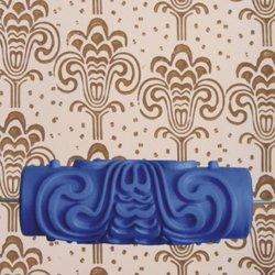 Promocja! Dekoracja 15cm wałek do farby ściennej wzór chmury płaskorzeźby do dekoracji niebieskiej maszyny w Zestaw narzędzi do malowania od Narzędzia na