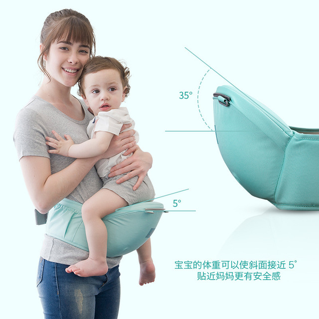 Breathable Ergonomic Baby Carrier Backpack Infant Baby Backpack Carriers Hipseat Sling Front Facing Kangaroo Wrap 0-36 Months