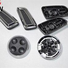 Крышка кнопки регулировки сиденья для Volkswagen VW Passat CC B7 Tiguan 2010- хромированная наклейка Переключатель черный и бежевый Замена
