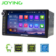 2 ГБ Оперативная память Android 6.0 двойной 2 DIN магнитофон монитор стерео GPS навигации автомобиля Радио плеер 4 г Wi-Fi BT GPS 4 ядра головного устройства