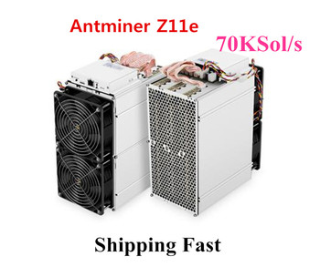 Asic Equihash Miner Antminer Z11e 70k Sol/s ZCASH Miner Mining ZEC ZEN Better Than Innosilicon A9 Antminer S9 S11 S15 S17 Z9 Z11 1