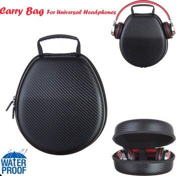 EVA Hard Storage Waterproof Case Cover Protective Bag Compatible For Universal Headphones