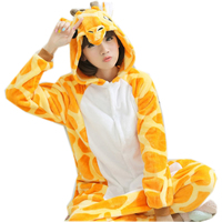 2015 Winter Flannel Hooded Animal Cosplay Onesie For Adults Anime One Piece Pijama Unisex Pajama Halloween