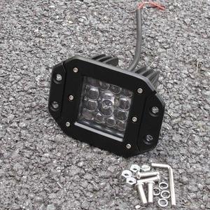 """Image 2 - 3 дюйма 5 """"Led дальнего света для автомобиля 4x4 внедорожника ATV 4WD пикапа грузовики Wrangler 12 В 24 В заподлицо фары рабочие огни"""