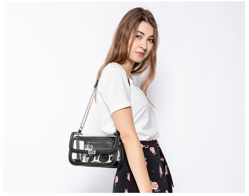 Lovevook sacos transparentes para as mulheres 2019