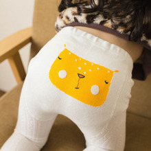 NEW Spring and Autumn New Cartoon Baby Bottom Pantyhose Embroidery Knitted Cotton Childrens Tights Stockings  Girl