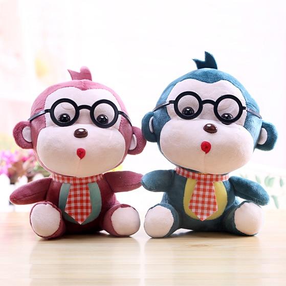 20cm Hot Sale Monkey Doll Plush Fabric Toy Stuffed Toys Small Gift
