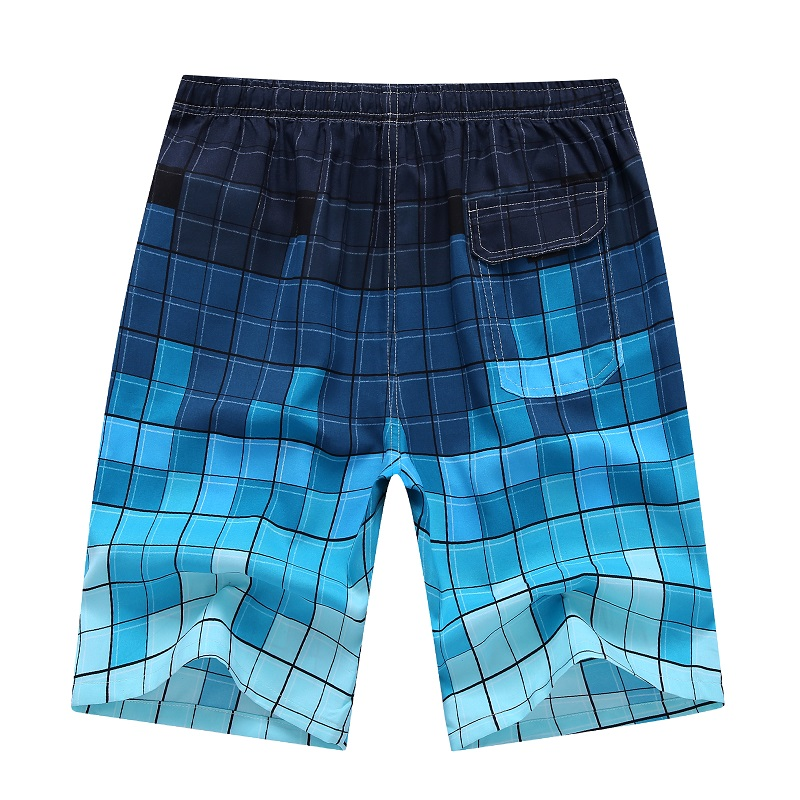 Clothing Swimming-Trunks Swimwear Board-Shorts Men's Summer New Printed Quick-Dry