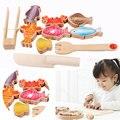 Multifuncional Pesca Juegos Familiares Para Niños Pesca pesca magnética juguete de madera Material Didáctico Montessori educativos triple a la parrilla