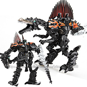 Image 2 - weijiang Oversize 21 27CM Anime Transformation Dinosaur Kids Toys Dragon Robot  Alloy Action Figures Brinquedos Classic Toys Boy