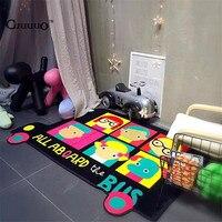 Toptan Fil Oyuncaklar Saklama Çantası Çocuk Oyun Mat 100x150 cm bebek Tarama fonksiyonlu dikdörtgen battaniye Kat Kilim/halı