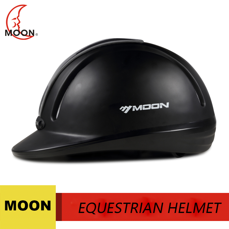 Moon new outdoor bike helmet equestrian helmet men and women riding horse equipment horse helmet horse hat lightweight m l xl ventilated adjustable safety horse racing carving hat equestrian riding helmet for men women climbing protect
