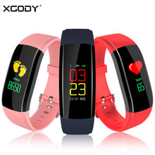 XGODY UPX Smart Watch Pedometer IP67 Waterproof Fitness Tracker Hang Up Call Reminder Bracelet Smartwatch Connect Android IOS