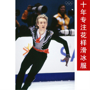 boys figure skating dress competition hot sale ice skating clothing for training men figure skating suits boys custom