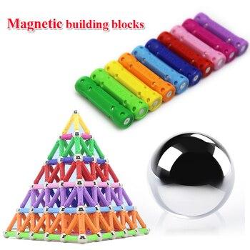 103pcs/157pcs/set Creative Magnetic Design Blocks Child intelligence toy educational toys magnetic stick favorite gift block toy 1
