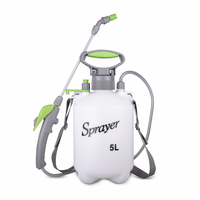 Water Spray Sprayer Knapsack Manual High Pressure Watering Horticultural Tools for Washing Car Squirt 5L Latest Style