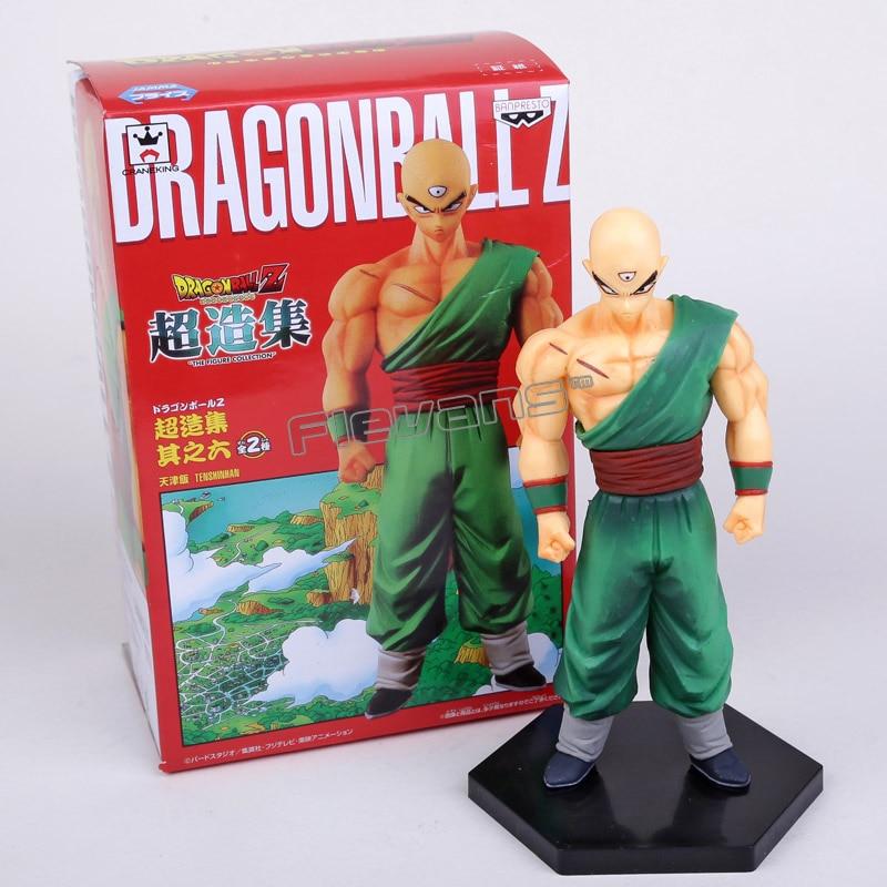 Anime Dragon Ball Z Tien Shinhan PVC Figure Collectible Toy 16cm with retail box