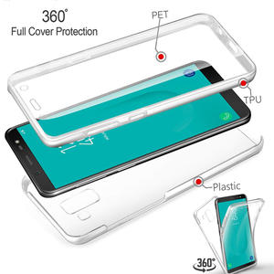 Phone-Case Frame Full-Cover Soft-Silicone Samsung Galaxy 360 for J2 J5 J7 Prime J3 Pro