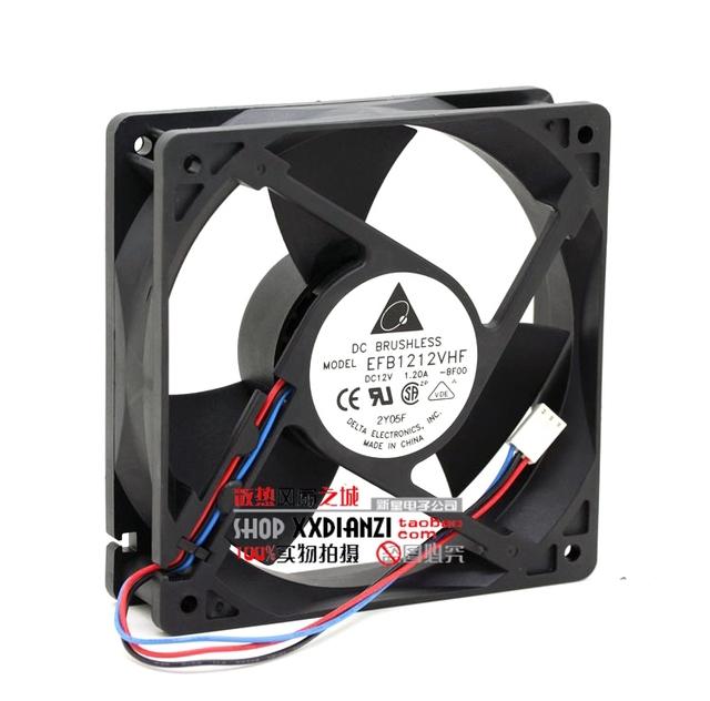 Original 12 V 1.20A EFB1212VHF 1203212 cm vento violento ventilador de refrigeração
