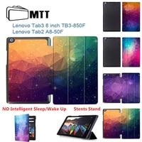 MTT Colorful Polygon Case For Lenovo Tab 2 A8 50F 50LC Tab 3 8 TB3 850F