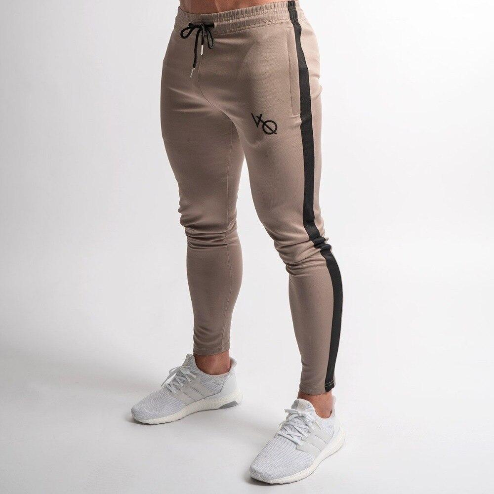 5700a654 2019 New Jogging Pants Men Striped Sport Sweatpants Running Pants ...