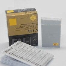 EN-EL5 / ENEL5 / EN EL5 Digicam Battery For Nikon P3 P4 P100 P500 P510 P5000 P5100 P6000 P80 P90 S10 3700 4200 5200 5900 7900