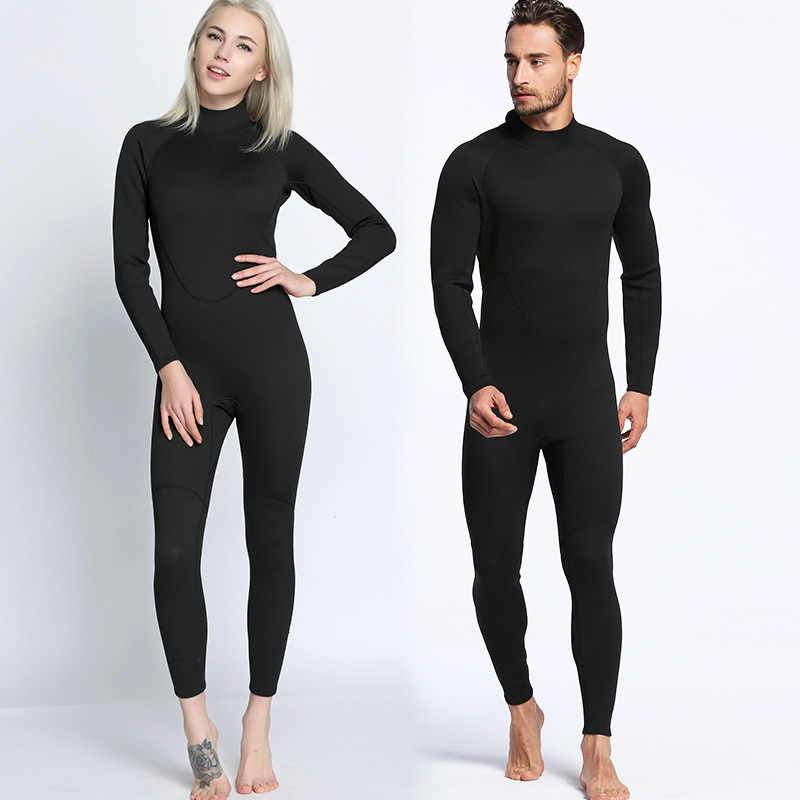 09eb11b0bf Men Women s Diving Suit 2mm Full Body Wetsuit S-XXL Swimming Surfing Diving  Snorkeling Suit