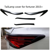 CITYCARAUTO CAR STYLING FOR FORTUNER REAR TAIL LIGHTS COVER REAR LAMP COVER STICKER FIT FOR TOYTA