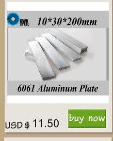 30*40*200mm 6061 Placa de Liga de Alumínio