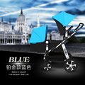 New Style Luxury Baby Stroller Pram Twins,Double Stroller Baby Cart Pushchair Buggy Carriage,European Strollers for Newborn Twin